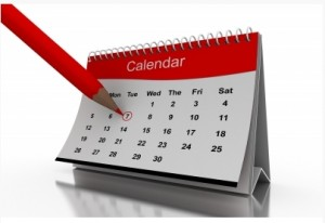CALENDRIER DES SESSIONS